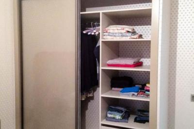встроенные шкафы в нишу