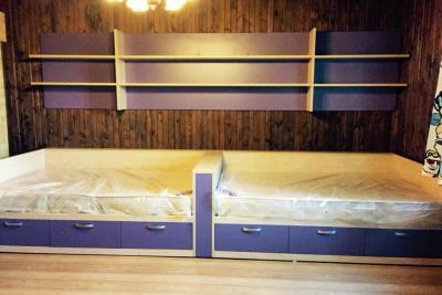 кровать для двоих детей под заказ