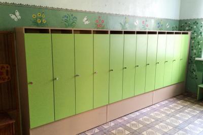 Шкафы в детские сады