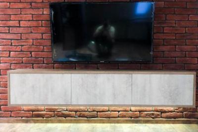 подвесная тумба от интерьер салон 3d